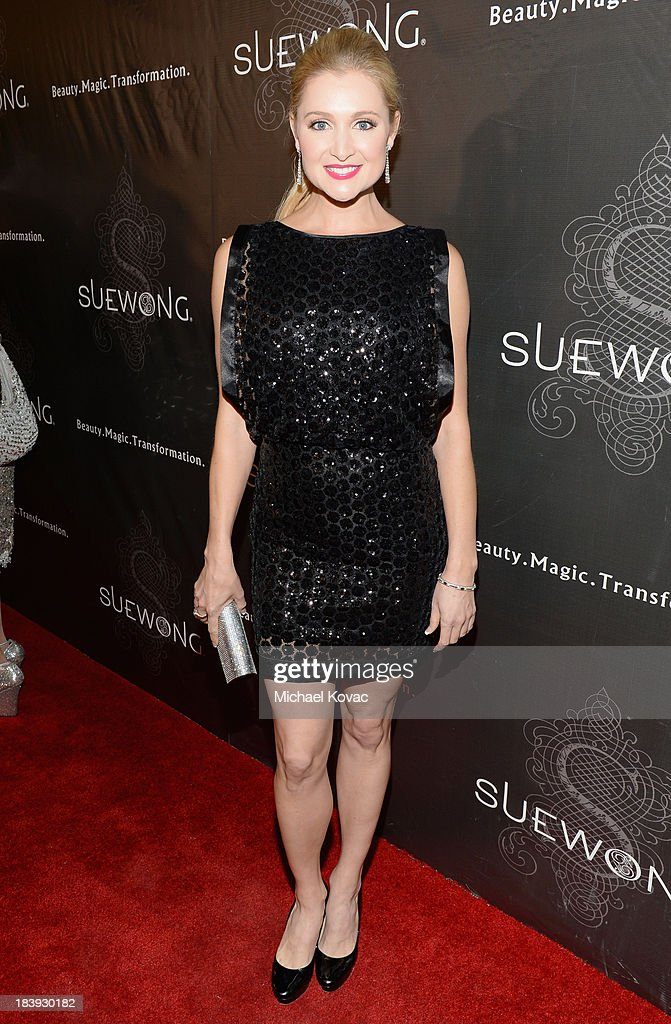 Actress Katherine Bailess attends Sue Wong 'Jazz Babies' Spring 2014 Runway Show on October 9, 2013 in Los Angeles, California.