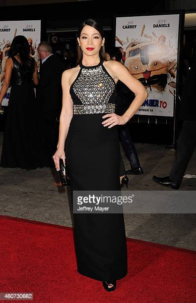 Actress Katherine Castro arrives at the Los Angeles premiere of 'Dumb And Dumber To' at Regency Village Theatre on November 3 2014 in Westwood...