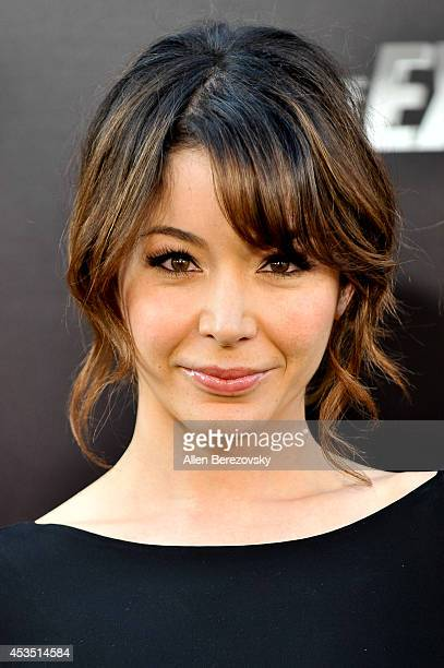 Actress Katherine Castro arrives at the Los Angeles premiere of Lionsgate Films' 'The Expendables 3' at TCL Chinese Theatre on August 11 2014 in...