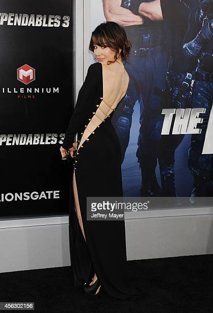 Actress Katherine Castro arrives at the 'Sin City A Dame To Kill For' Los Angeles Premiere at TCL Chinese Theatre on August 19 2014 in Hollywood...