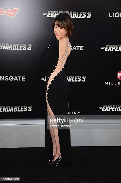 Actress Katherine Castro attends Lionsgate Films' 'The Expendables 3' premiere at TCL Chinese Theatre on August 11 2014 in Hollywood California
