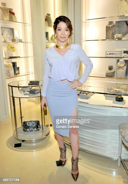 Actress Katherine Castro attends the 2014 Princess Grace Awards Gala pre celebration hosted by Dior on September 18 2014 in Los Angeles California
