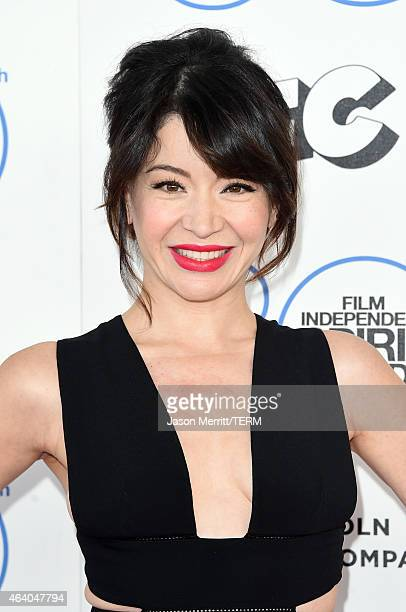 Actress Katherine Castro attends the 2015 Film Independent Spirit Awards at Santa Monica Beach on February 21 2015 in Santa Monica California