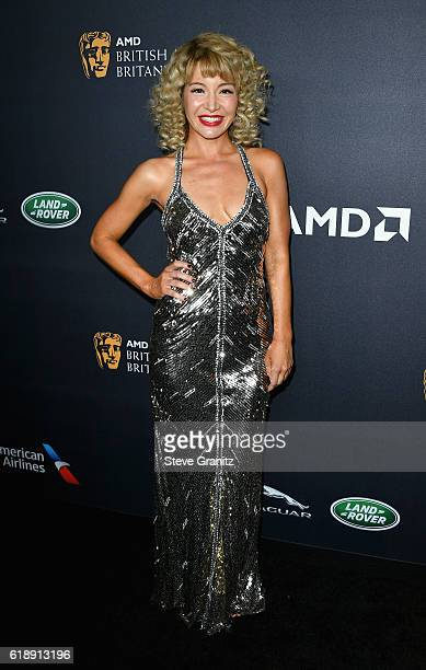 Actress Katherine Castro attends the 2016 AMD British Academy Britannia Awards presented by Jaguar Land Rover and American Airlines at The Beverly...