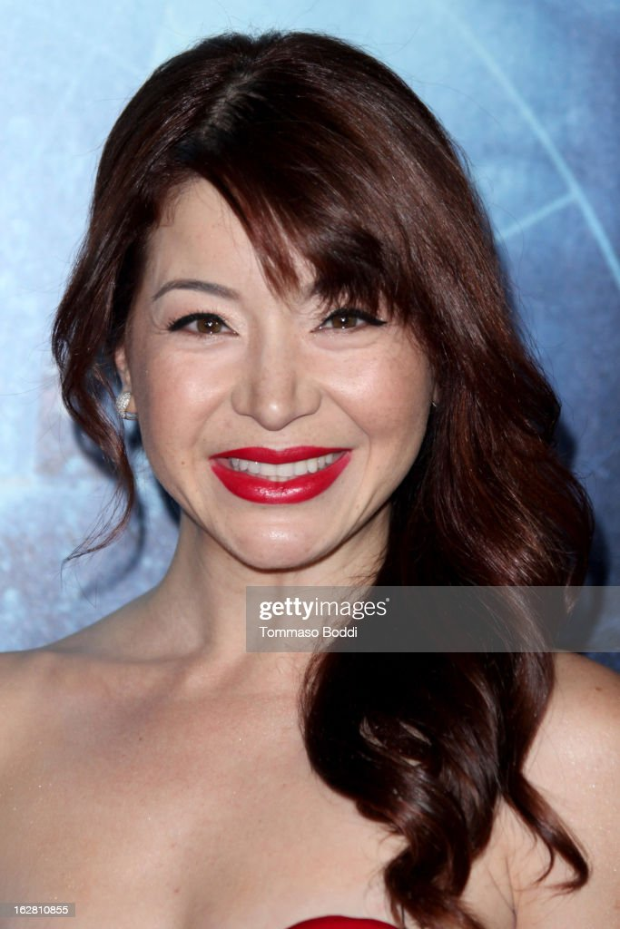 Actress Katherine Castro attends the 'Phantom' Los Angeles premiere held at the TCL Chinese Theatre on February 27, 2013 in Hollywood, California.