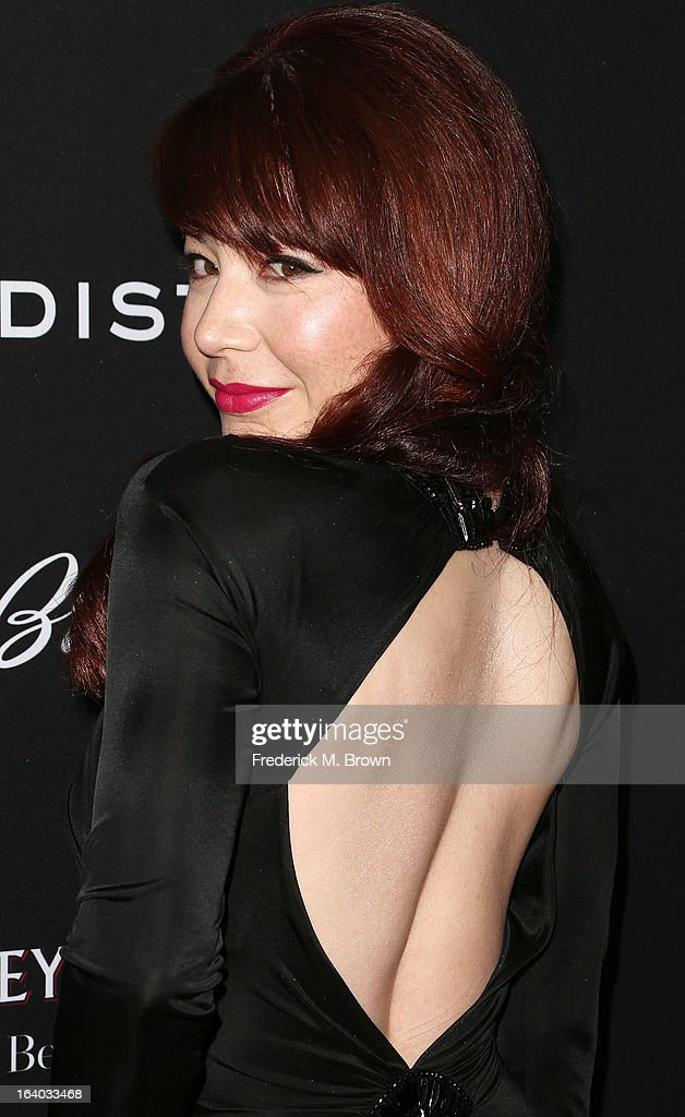 Actress Katherine Castro attends the Premiere of FilmDistrict's 'Olympus Has Fallen' at the ArcLight Cinemas Cinerama Dome on March 18, 2013 in Hollywood, California.