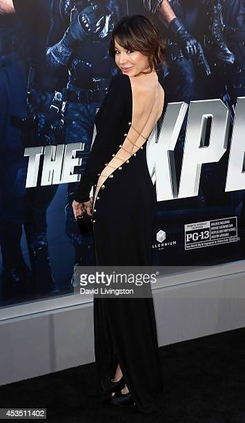 Actress Katherine Castro attends the premiere of Lionsgate Films' 'The Expendables 3' at the TCL Chinese Theatre on August 11 2014 in Hollywood...
