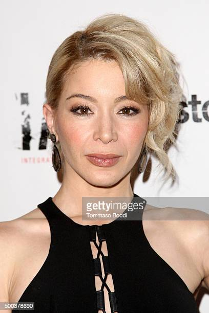 Actress Katherine Castro attends the premiere of Stockholm Pictures' 'American Violence' held at Harmony Gold on December 7 2015 in Los Angeles...