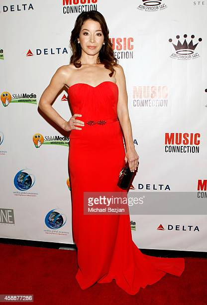 Actress Katherine Castro receives Hollywood FAME Awards at Avalon on November 12 2014 in Hollywood California