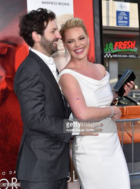 Actress Katherine Heigl and husband Josh Kelley arrive at the premiere of Warner Bros Pictures' 'Unforgettable' at TCL Chinese Theatre on April 18...
