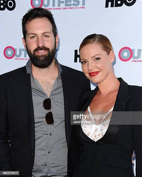 Actress Katherine Heigl and husband Josh Kelley attend the premiere of 'Jenny's Wedding' at the 2015 Outfest Los Angeles LGBT Film Festival at...