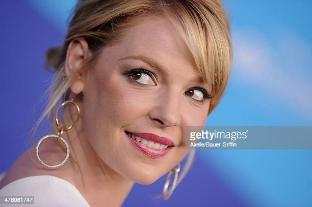 Actress Katherine Heigl arrives at the 1st Annual unite4humanity event hosted by unite4good and Variety at Sony Studios on February 27 2014 in Los...