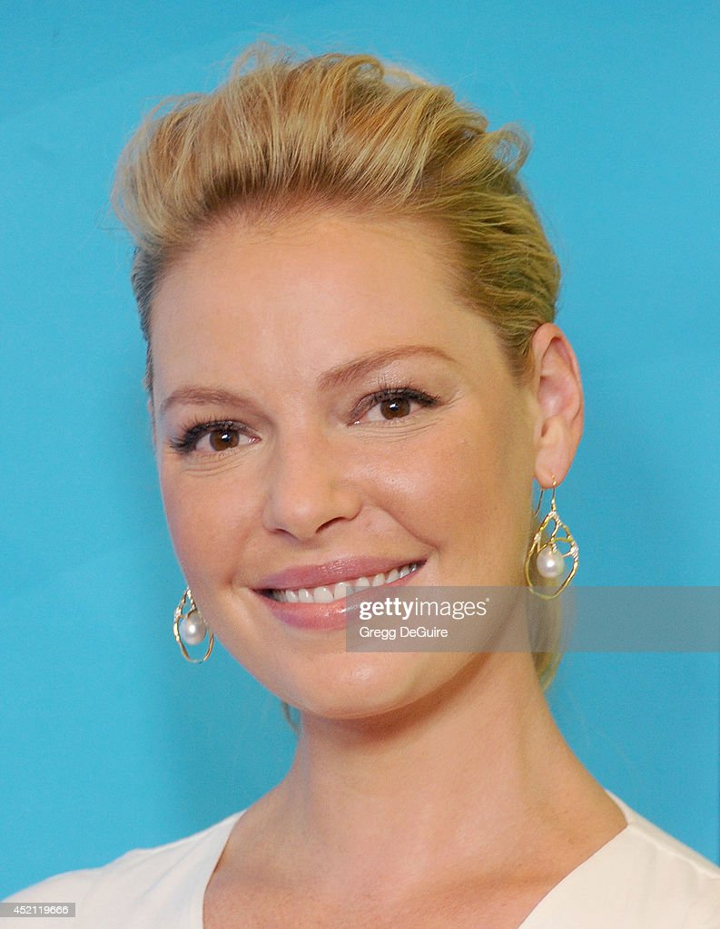Actress Katherine Heigl arrives at the 2014 Television Critics Association Summer Press Tour - NBCUniversal - Day 1 at The Beverly Hilton Hotel on July 13, 2014 in Beverly Hills, California.