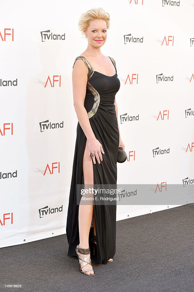 Actress Katherine Heigl arrives at the 40th AFI Life Achievement Award honoring Shirley MacLaine held at Sony Pictures Studios on June 7, 2012 in Culver City, California. The AFI Life Achievement Award tribute to Shirley MacLaine will premiere on TV Land on Saturday, June 24 at 9PM
