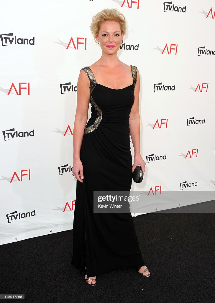 Actress Katherine Heigl arrives at the 40th AFI Life Achievement Award honoring Shirley MacLaine held at Sony Pictures Studios on June 7, 2012 in Culver City, California. The AFI Life Achievement Award tribute to Shirley MacLaine will premiere on TV Land on Saturday, June 24 at 9PM ET/PST.