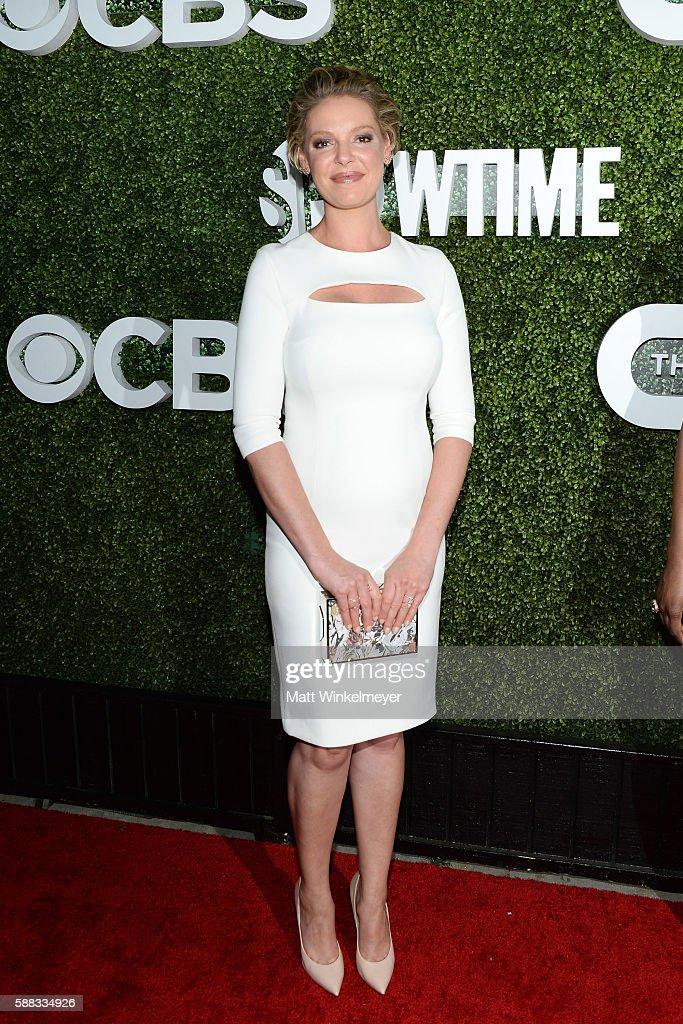 CBS, CW, Showtime Summer TCA Party - Arrivals