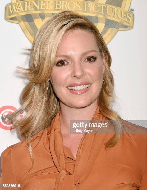 Actress Katherine Heigl arrives at the CinemaCon 2017 Warner Bros Pictures presentation of their upcoming slate of films at The Colosseum at Caesars...