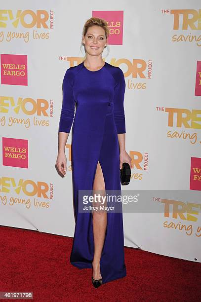 Actress Katherine Heigl arrives at TrevorLIVE Los Angeles at Hollywood Palladium on December 7 2014 in Los Angeles California