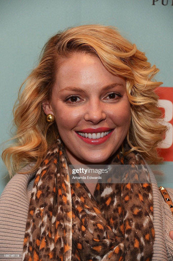 Actress Katherine Heigl attends Day 2 of the Kari Feinstein Style Lounge on January 19, 2013 in Park City, Utah.