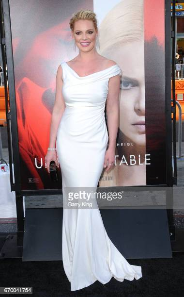 Actress Katherine Heigl attends premiere of Warner Bros Pictures' 'Unforgettable' at TCL Chinese Theatre on April 18 2017 in Hollywood California