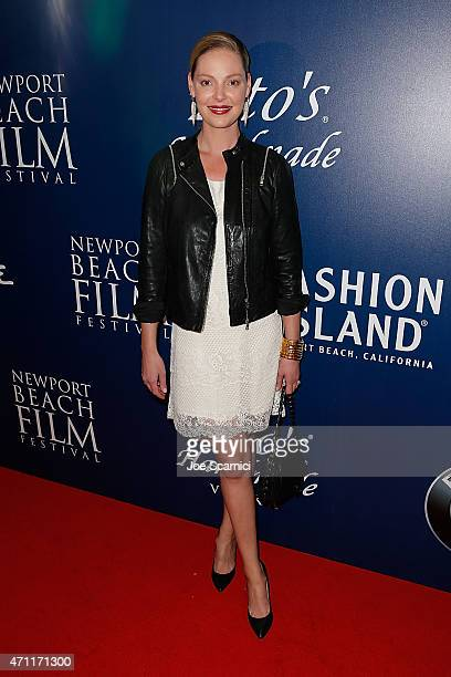 Actress Katherine Heigl attends the 2015 Newport Beach Film Festival for the 'Jackie Ryan' Premiere at Triangle Square Theater on April 25 2015 in...