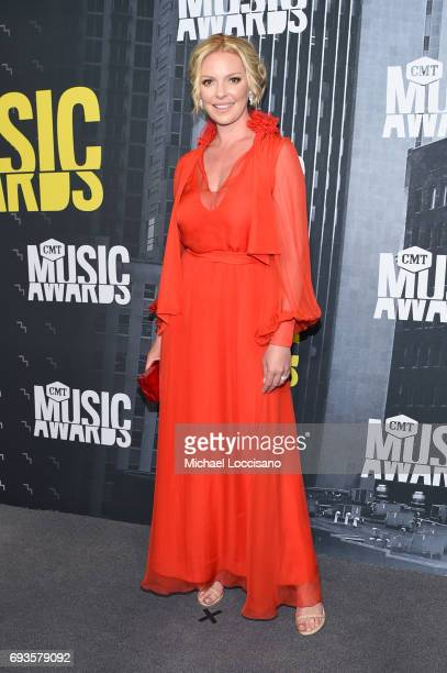 Actress Katherine Heigl attends the 2017 CMT Music awards at the Music City Center on June 7 2017 in Nashville Tennessee