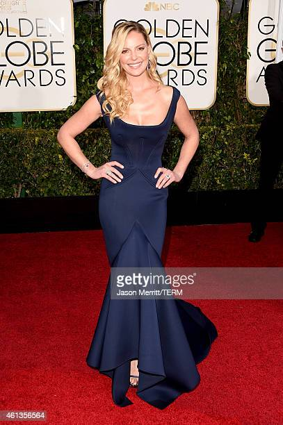 Actress Katherine Heigl attends the 72nd Annual Golden Globe Awards at The Beverly Hilton Hotel on January 11 2015 in Beverly Hills California
