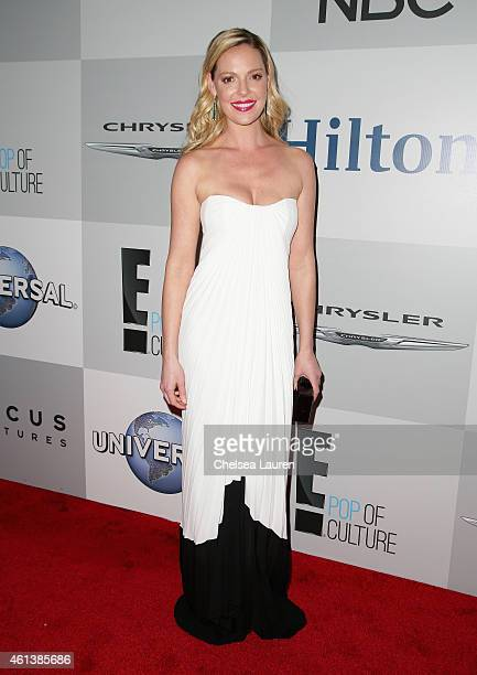 Actress Katherine Heigl attends the NBCUniversal 2015 Golden Globe Awards Party sponsored by Chrysler at The Beverly Hilton Hotel on January 11 2015...