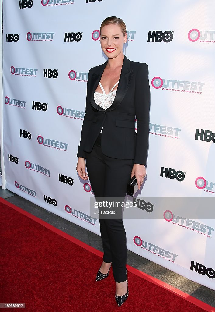 Actress Katherine Heigl attends the Premiere of IFC's 'Jenny's Wedding' at 2015 Outfest Los Angeles LGBT Film Festival at Director's Guild Of America on July 10, 2015 in West Hollywood, California.