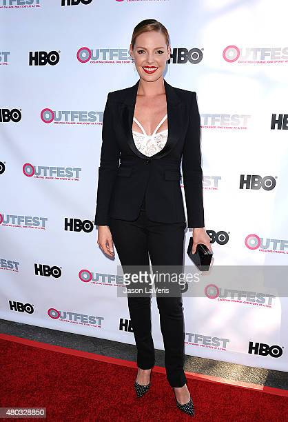 Actress Katherine Heigl attends the premiere of 'Jenny's Wedding' at the 2015 Outfest Los Angeles LGBT Film Festival at Directors Guild Of America on...
