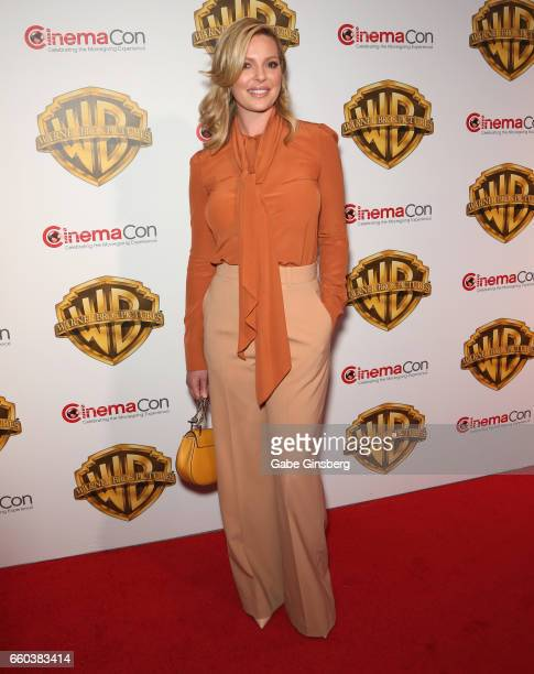 Actress Katherine Heigl attends the Warner Bros Pictures presentation during CinemaCon at The Colosseum at Caesars Palace on March 29 2017 in Las...
