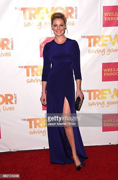 Actress Katherine Heigl attends 'TrevorLIVE LA' Honoring Robert Greenblatt Yahoo and Skylar Kergil for The Trevor Project at Hollywood Palladium on...