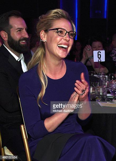 Actress Katherine Heigl attends 'TrevorLIVE LA' Honoring Robert Greenblatt Yahoo and Skylar Kergil for The Trevor Project presented by Wells Fargo at...