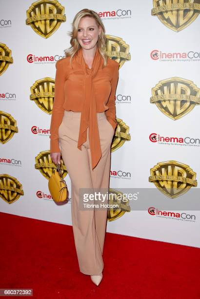 Actress Katherine Heigl attends Warner Bros Pictures 'The Big Picture' an exclusive presentation of our upcoming slate at The Colosseum at Caesars...