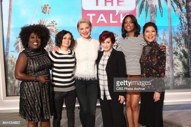Actress Katherine Heigl discusses her new CBS series 'Doubt' on 'The Talk' Wednesday February 15 2017 on the CBS Television Network From left Sheryl...