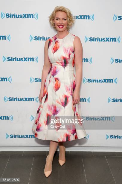 Actress Katherine Heigl is a guest on Jenny McCarthy's 'Inner Circle' Series On Her SiriusXM Show 'The Jenny McCarthy Show'