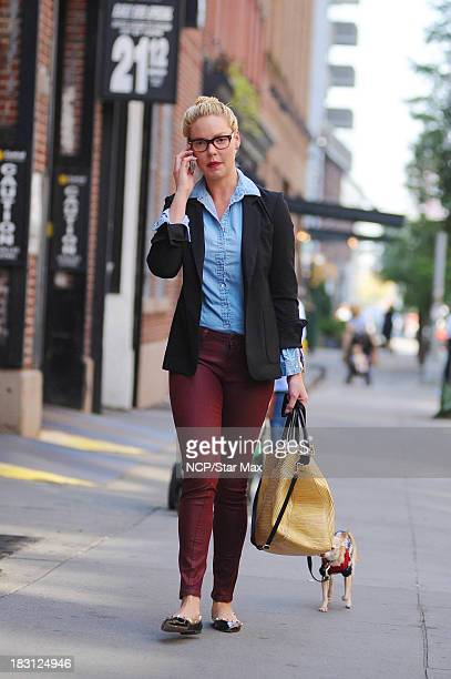 Actress Katherine Heigl is seen on October 4 2013 in New York City