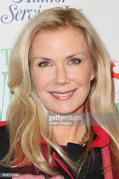 Actress Katherine Kelly Lang arrives at the 85th Annual Hollywood Christmas Parade on November 27 2016 in Hollywood California