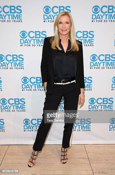 Actress Katherine Kelly Lang arrives at 'The Bold And The Beautiful' live script read and panel at The Paley Center for Media on November 3 2016 in...