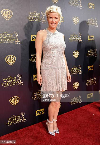 Actress Katherine Kelly Lang attends The 42nd Annual Daytime Emmy Awards at Warner Bros Studios on April 26 2015 in Burbank California