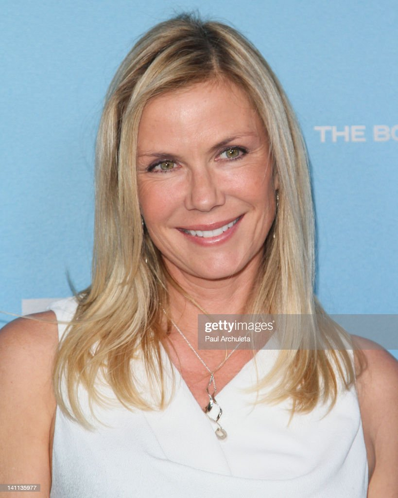 Actress Katherine Kelly Lang attends 'The Bold And The Beautiful' 25th silver anniversary party on March 10, 2012 in Los Angeles, California.
