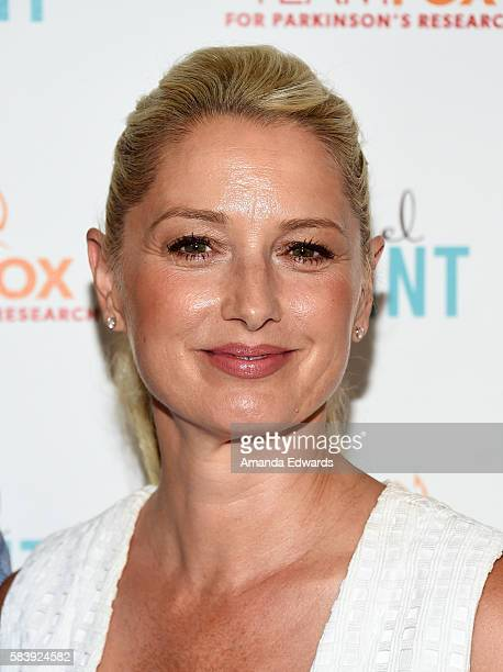 Actress Katherine LaNasa arrives at the Raising The Bar To End Parkinson's event at Laurel Point on July 27 2016 in Studio City California