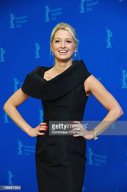 Actress Katherine LaNasa attends the 'Jayne Mansfield's Car' Photocall during day five of the 62nd Berlin International Film Festival at the Grand...