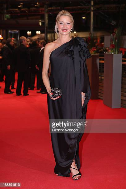Actress Katherine LaNasa attends the 'Jayne Mansfield's Car' Premiere during day five of the 62nd Berlin International Film Festival at the Berlinale...