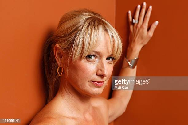 Actress Katherine LaNasa of 'Jayne Mansfield's Car' poses at the Guess Portrait Studio during 2012 Toronto International Film Festival on September...