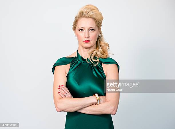 Actress Katherine LaNasa poses for a portrait on January 8 2013 in Brooklyn New York