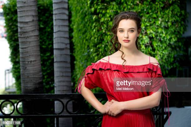 Actress Katherine Langford is photographed for Los Angeles Times on April 24 2017 in Los Angeles California PUBLISHED IMAGE CREDIT MUST READ Mel...