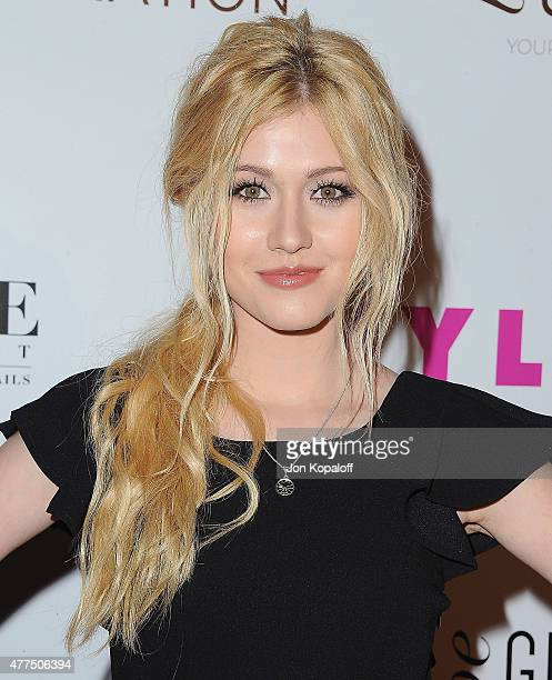 Actress Katherine McNamara arrives at NYLON Magazine And BCBGeneration Annual May Young Hollywood Issue Party Hosted By May Cover Star Dakota Fanning...