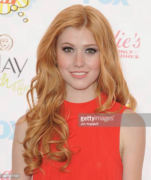 Actress Katherine McNamara arrives at the 2014 Teen Choice Awards at The Shrine Auditorium on August 10 2014 in Los Angeles California