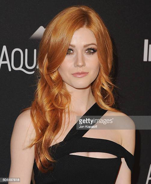 Actress Katherine McNamara arrives at the 2016 InStyle And Warner Bros 73rd Annual Golden Globe Awards PostParty at The Beverly Hilton Hotel on...